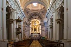 Civita Cathedral Stock Image