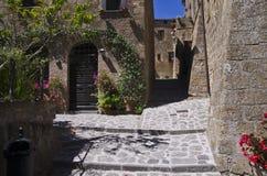 Civita di Bagnoreggio Stock Images