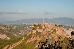 Civita di Bagnoreggio Fotografie Stock