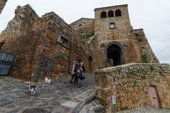 Civita di Bagnoreggio Foto de Stock Royalty Free