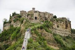 Civita di Bagnoregio, Италия Стоковое Изображение RF
