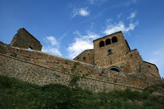 Civita di Bagnoregio. A nice shot of Civita di Bagnoregio - the dying town Stock Photo