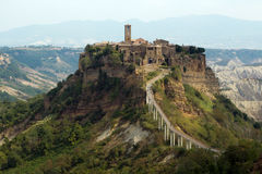 Civita di Bagnoregio Photos stock