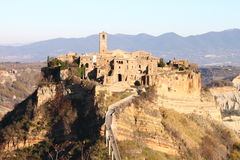 Civita di Bagnoregio Stock Photography