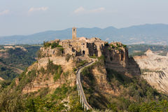 Civita di Bagnoregio Fotos de Stock Royalty Free