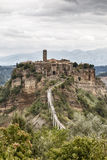 Civita di Bagnoregio Стоковые Фото