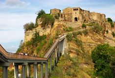 Civita di Bagnoregio Stock Photo