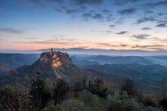 Civita di Bagnoregio Стоковая Фотография RF