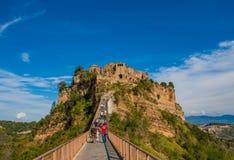 Civita di Bagnoregio, a cidade de morte imagem de stock royalty free