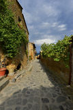 Civita di Bagnoregio  evening light, Lazio, Italy Royalty Free Stock Photo