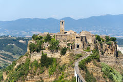 Civita Di Bagnoregio (Italië) Stock Afbeeldingen