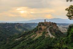 Civita di Bagnoregio Italien Stockfotografie