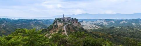 Civita di Bagnoregio Italien Lizenzfreie Stockfotografie