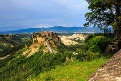 Civita di Bagnoregio Italien Stockbilder