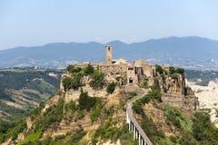 Civita di Bagnoregio (Italy) Royalty Free Stock Image