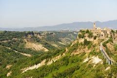 Civita di Bagnoregio (Italy) Stock Images