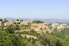 Civita di Bagnoregio (Italy) Stock Photo