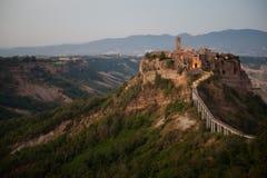 Civita di Bagnoregio, Italy Royalty Free Stock Photos