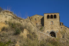 Civita di Bagnoregio in Italy Royalty Free Stock Photos