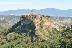 Civita di Bagnoregio Stock Images