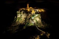 Civita di Bagnoregio - Latium du nord Italie Photos stock