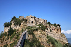 Civita di Bagnoregio - Lazio Royalty Free Stock Photos