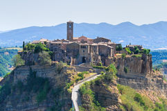 Civita di Bagnoregio. Lazio. Italy. Royalty Free Stock Photos