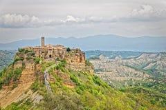 Civita di Bagnoregio le village qui meurt Photographie stock libre de droits