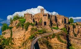 Civita Di Bagnoregio Old Town Royalty Free Stock Images