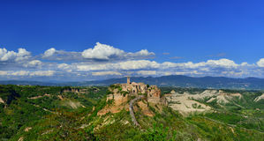 Civita di Bagnoregio old town Stock Images