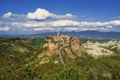 Civita di Bagnoregio old town Royalty Free Stock Photo
