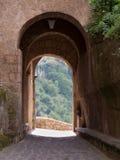 Civita Di Bagnoregio The stad die sterft Royalty-vrije Stock Afbeeldingen