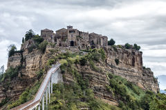 Civita di Bagnoregio_2 Stock Photo