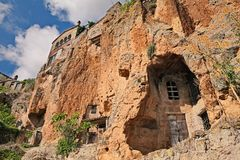 Free Civita Di Bagnoregio, Viterbo, Lazio, Italy: The Rock Face Of Th Royalty Free Stock Images - 104906489