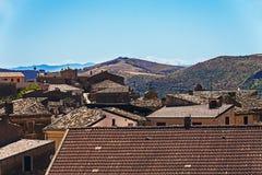 Civita, a little town in calabria near parco del pollino Stock Photo