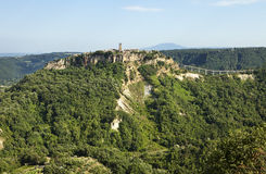 Civita Viewpoint Royalty Free Stock Images