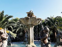 Civitanova Marche. Fountain in centre Royalty Free Stock Image