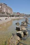 Civitavecchia海滩 库存照片