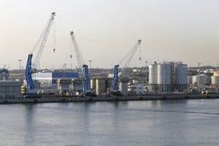Civitavecchia-Hafen Lizenzfreies Stockbild