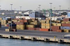 Civitavecchia-Hafen Lizenzfreie Stockbilder