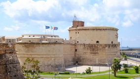 CIVITAVECCHIA, ITALY - APRIL 25, 2017: View on the Fort Michelan Stock Image