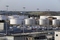 Civitavecchia port Obrazy Stock