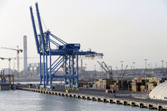 Civitavecchia port Obraz Stock