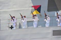 Civitavecchia Rome Italy Day of the Italian Navy Royalty Free Stock Image