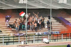 Civitavecchia supporters Stock Photo