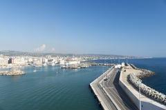 civitavecchiaitaly port Royaltyfria Foton