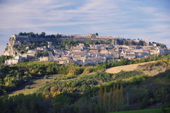 civitella del hill ιταλικό πόλης tronto στοκ φωτογραφίες