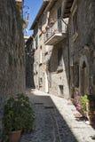 Civitella Del Tronto Teramo, Abruzzi, Włochy Obrazy Stock