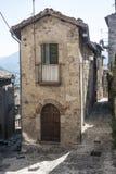 Civitella del Tronto Teramo, Abruzzo, Italia Fotografia Stock