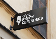 Civli rights defenders Royalty Free Stock Image